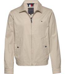 lightweight cotton f dun jack beige tommy hilfiger