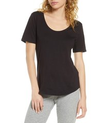 women's bp. all day tee, size x-small - black