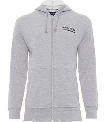 jaqueta masculina hoody - cinza