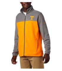 columbia tennessee volunteers men's flanker jacket iii fleece full zip jacket