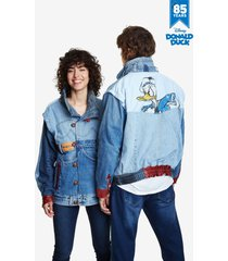 iconic jacket donald duck - red - l