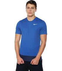 camiseta azul royal hang ten brthe rapid top s