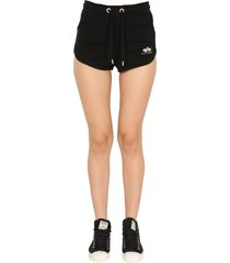 alpha industries shorts with logo