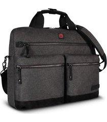 maletin para laptop swissbrand melbourne-gris