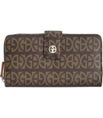 giani bernini block signature all in one wallet, created for macy's