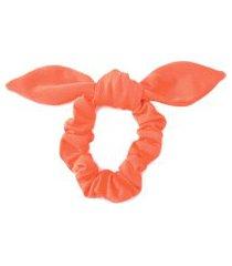 elástico de cabelo neon anna julia - laranja
