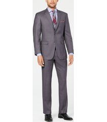 perry ellis men's slim-fit comfort stretch suits