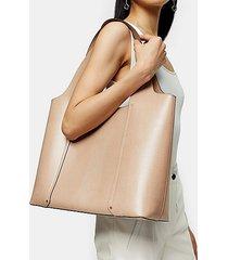 taylor pale pink tote bag - pale pink