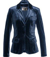 blazer in velluto (blu) - bpc selection