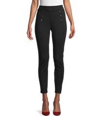 calvin klein women's high-waist leggings - black - size s