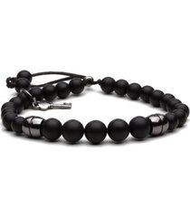 pulseira key design - arnold - black series