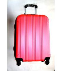 espectacular maleta pequeña 20 pulgadas cabina 4 ruedas 360º abs - rojo