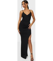 nly one wrap asymmetric dress maxiklänningar