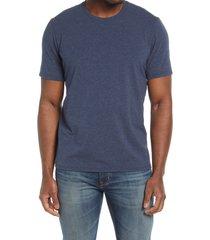 men's l.l.bean men's comfort stretch pima cotton t-shirt, size x-large - blue