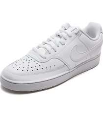 tenis lifestyle blanco nike court vision lo