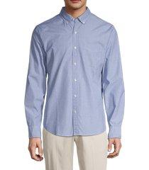 bonobos men's standard-fit long-sleeve shirt - deep blue - size s