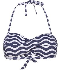beach tops wireless bikinitop blå esprit bodywear women