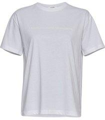 moss copenhagen t-shirt 15258 liv organic wit