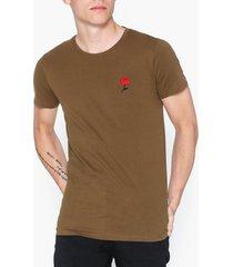 solid florencio ss t-shirts & linnen sepia