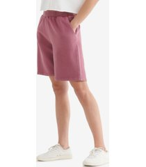 women's mid rise relaxed shorts