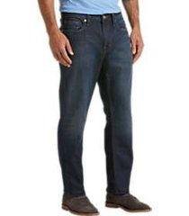 silver jeans co. grayson dark blue wash classic fit jeans