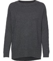 all set sweater stickad tröja grå odd molly
