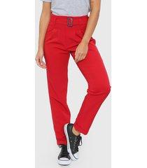 pantalón rojo  montjuic aquila