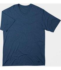 camiseta mash manga curta em tecido modal masculina - masculino