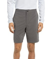 zella hybrid tech shorts, size xx-large in grey obsidian heather at nordstrom