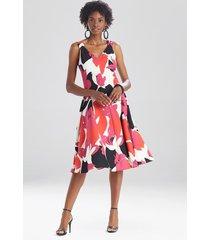 natori lotus tank dress, women's, size 8