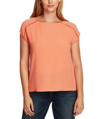 vince camuto clip-dot top