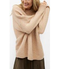 mango women's oversize knit sweater