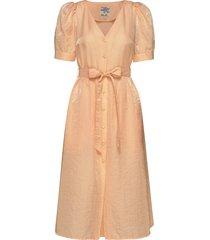 alma jurk knielengte oranje baum und pferdgarten