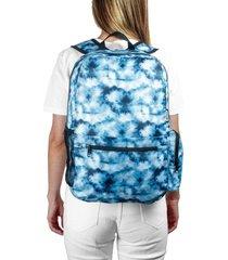 morral plegable estampado tie dye citybags multicolor