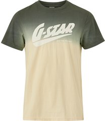 t-shirt dip dye logo tee