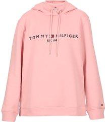 tommy hilfiger cotton sweatshirt with logo