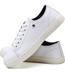 tãªnis sapatãªnis casual fashion feminino dubuy r302el branco - branco - feminino - sintã©tico - dafiti