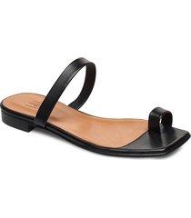 sandals 14100 shoes summer shoes flat sandals svart billi bi