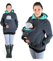 0baby carrier babywearing jacket hoodie jumper kangaroo maternity outerwear coat