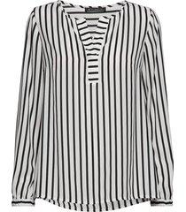 blouse long 1/1 sleeve blus långärmad svart betty barclay