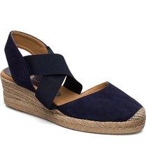 cele_20_ks sandalette med klack espadrilles blå unisa