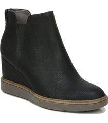 dr. scholl's women's johnnie slip-ons bootie women's shoes