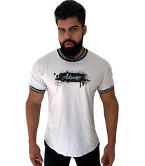 camiseta advance clothing college deluxe branca - branco - masculino - algodã£o - dafiti