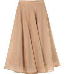 msgm silk full skirt