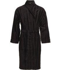 bathrobe morgonrock badrock svart jbs