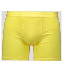 cueca boxer lupo elastic soft amarela