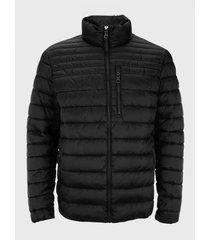 abrigo para caballero negro calvin klein