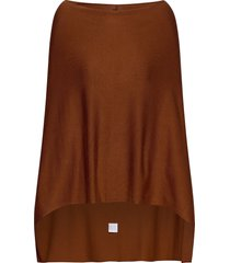 fqclaudisse-s-cape poncho regnkläder brun free/quent