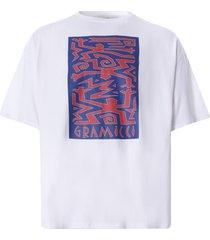 gramicci primitive slit t-shirt   white   gut-21s010