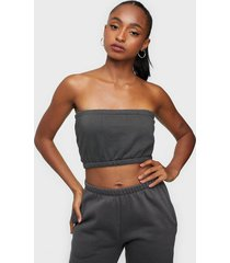 nly trend sweat tube top linnen